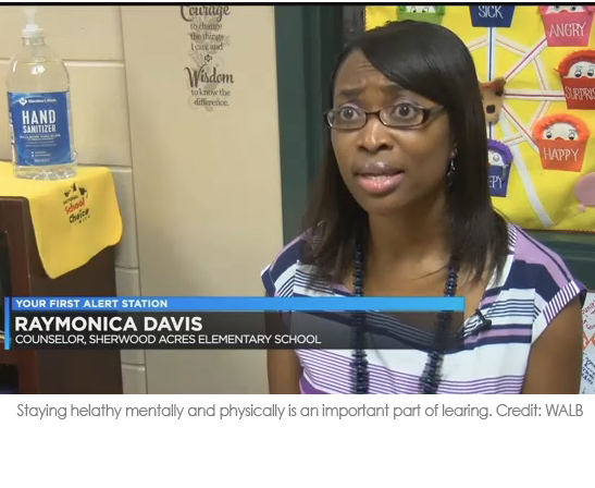 Raymonica Davis speaks about staying healthy