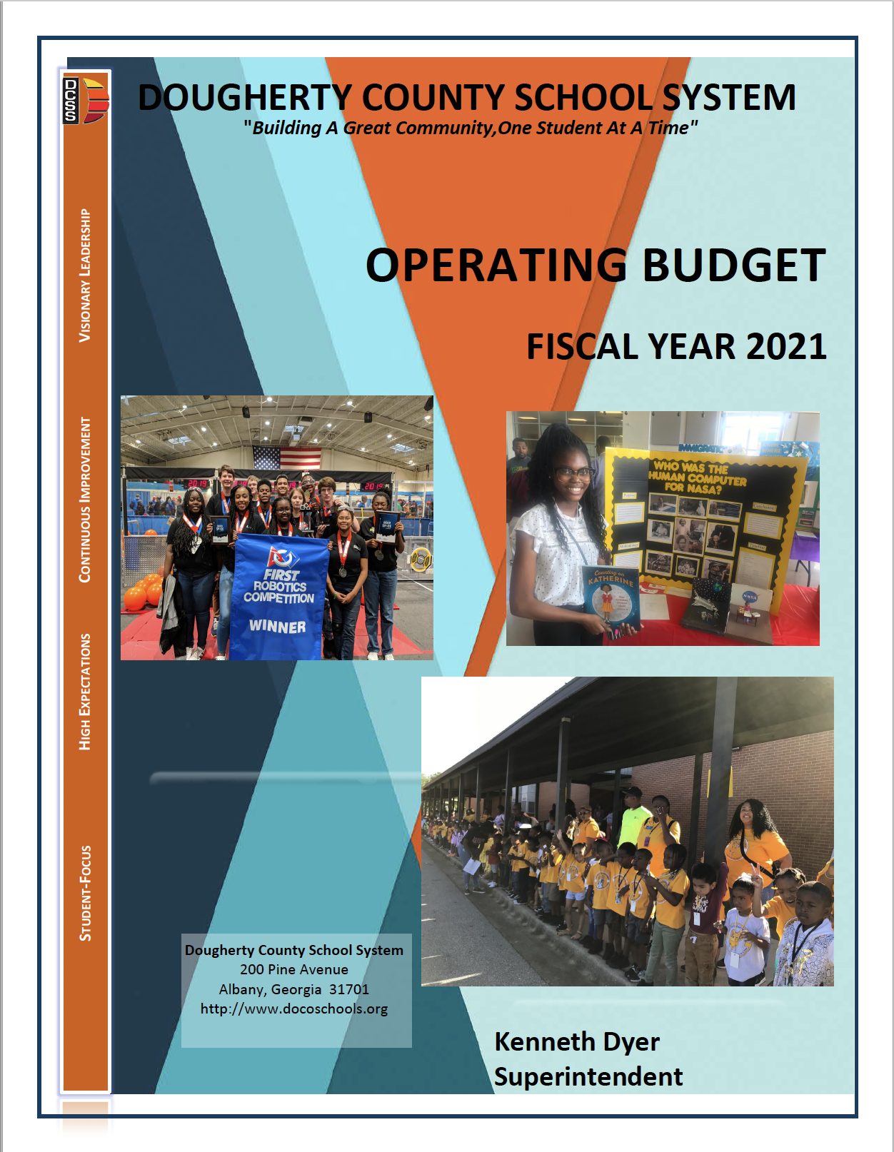 FY2021 Tentative Operating Budget